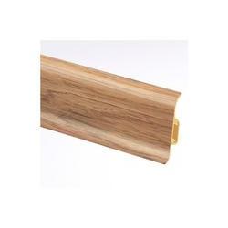 Lišta soklová PVC Cezar PREMIUM Dub Cognac M198 59x22x2500 mm