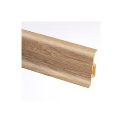 Lišta soklová PVC Cezar PREMIUM Dub Newport M181 59x22x2500 mm
