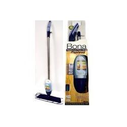 Bona Spray Mop Express na drevené podlahy (sprej mop, utierka modrá mikrovlákno, 0,709 L čistič na parkety - drevo a korok)