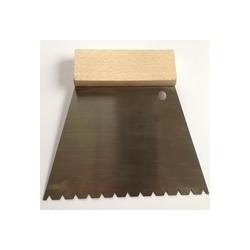Stierka SIKA Profi na lepidlo na parkety, ozubenie B11, šírka 18 cm, kalená oceľ (spotreba +/- 0,8 L/m2)