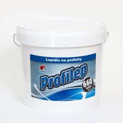 Lepidlo Chemos Profilep 660 disperzné 14 kg na celoplošné lepenie vinylových podláh (na vinyl a PVC športové povrchy, aj na podl