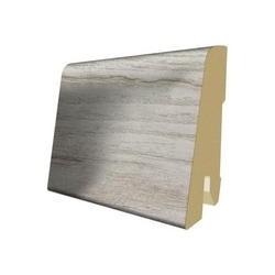 Lišta soklová PVC Egger 60 Aqua+ L204 60x17x2400 mm (k H2530, H2771, prvky - Biele)