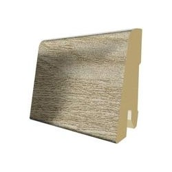 Lišta soklová PVC Egger 60 Aqua+ L233 60x17x2400 mm (k H2350, S2350, prvky - Javor / Borovica)