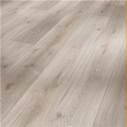 Vinyl Basic 30 Chateau plank, oak grey whitewash. wood texture 1 V-groove, 1730551, 2200x216x9,4 mm