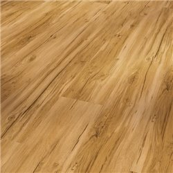 Vinyl Basic 30 Chateau plank, Oak Memory natural wood texture 1 V-groove, 1730555, 2200x216x9,4 mm