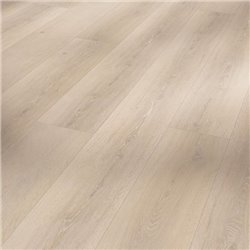 Vinyl Basic 30 Chateau plank, Oak Skyline white wood texture 1 V-groove, 1730554, 2200x216x9,4 mm