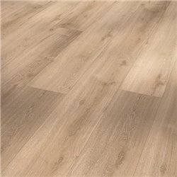 Vinyl Basic 30 Chateau plank, Royal Oak light limed wood texture 1 V-groove, 1730553, 2200x216x9,4 mm
