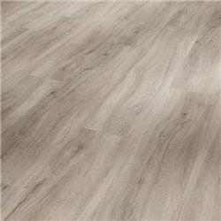 Vinyl Basic 2.0, oak pastel grey Brushed Texture wide plank, 1730798, 1219x229x2 mm